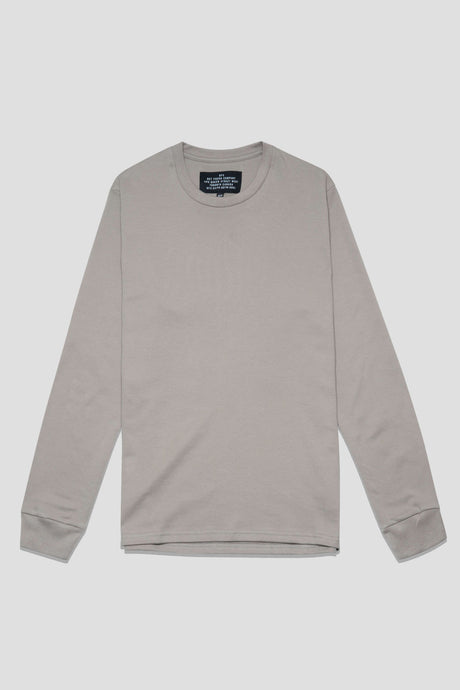Barebones by GFC - L/S Crew Tee - Great Grey