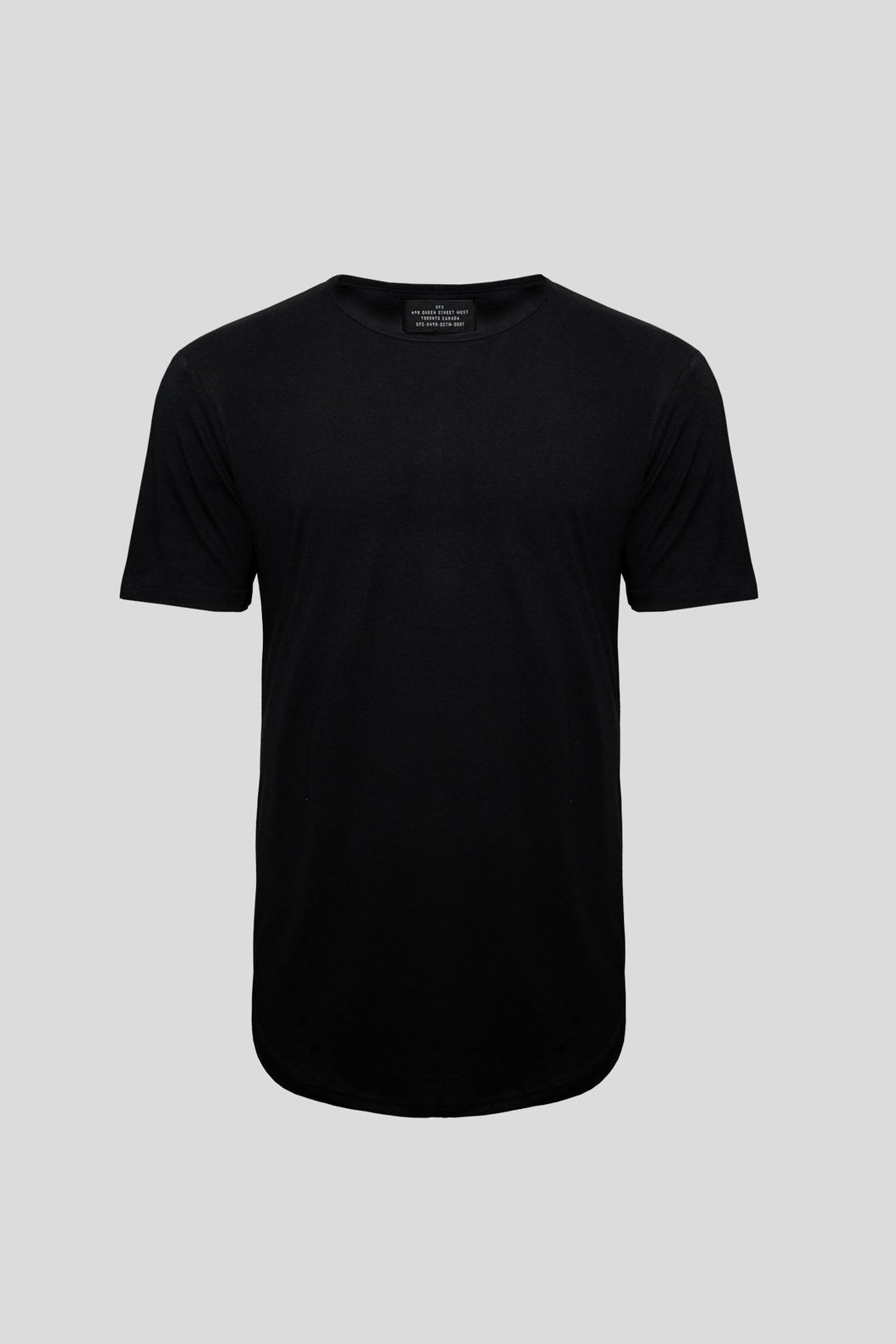 Barebones by GFC - Bamboo Scoop Tee - Black