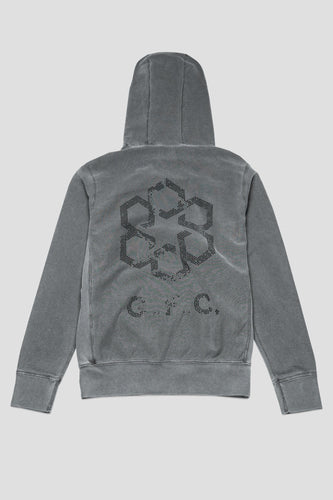 GFC - Crystal Shield Hoody - Charcoal