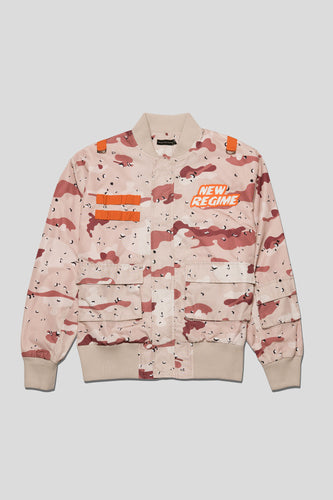 Atelier New Regime - Desert Camo Flight Jacket