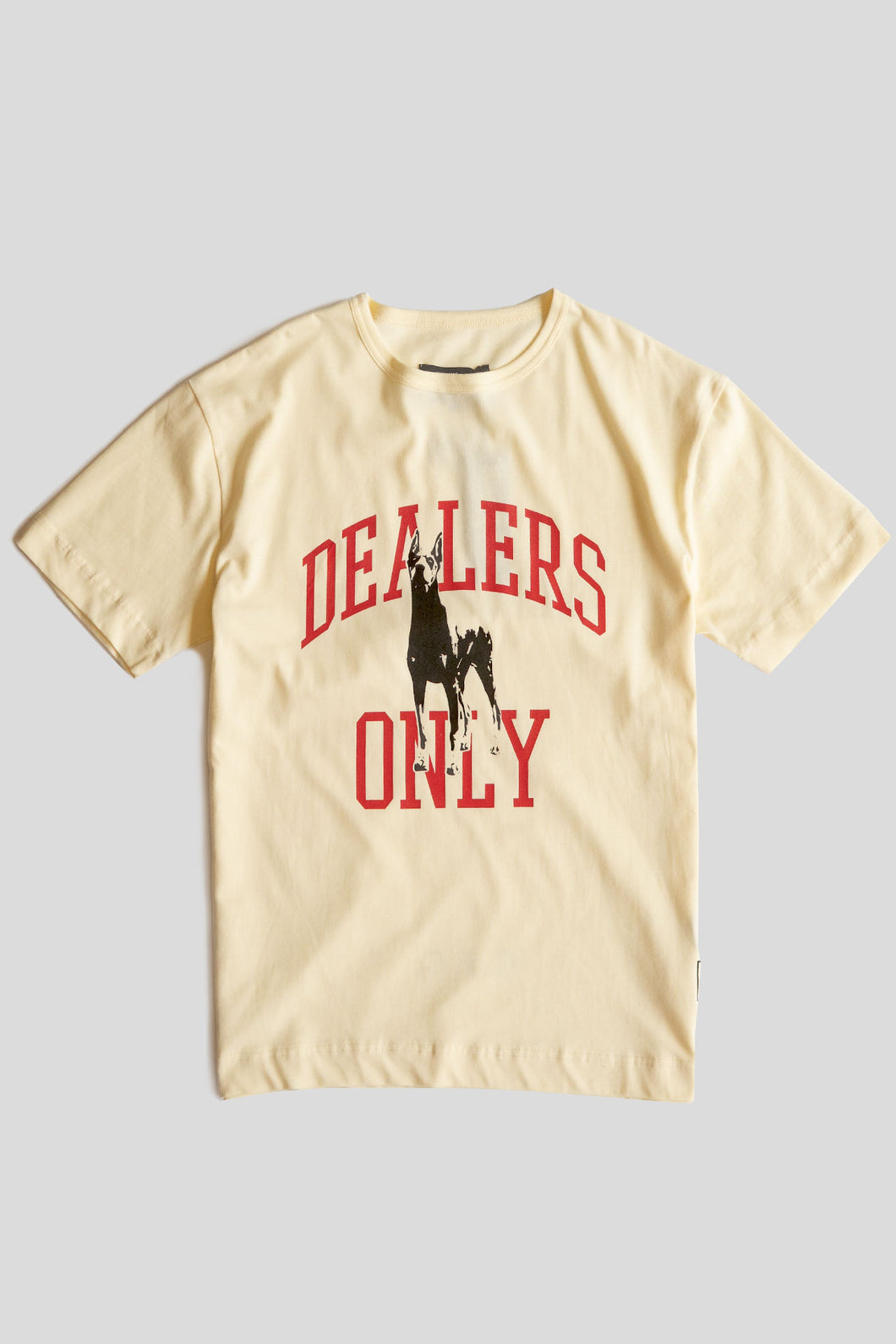 GFC - Dealers Only Tee - Ecru/Red