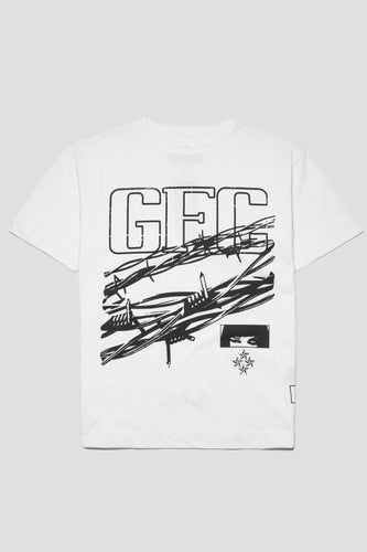 GFC - No Entry Tee - White