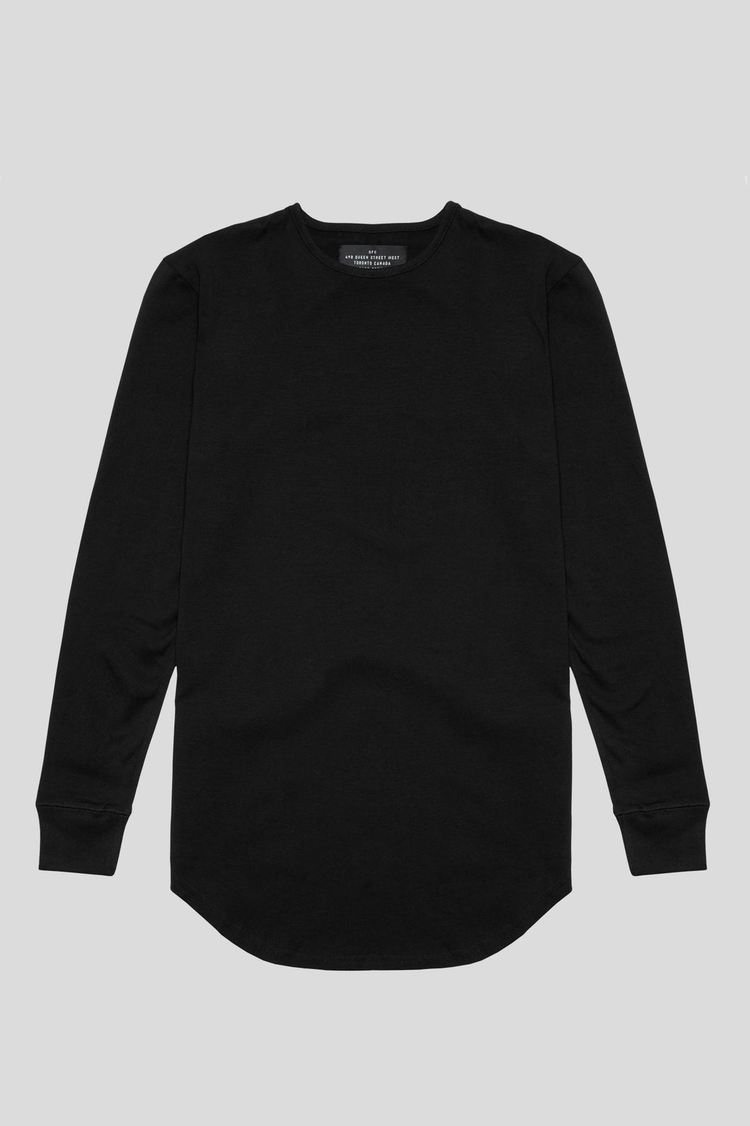 Barebones By GFC - Scoop L/S - Black