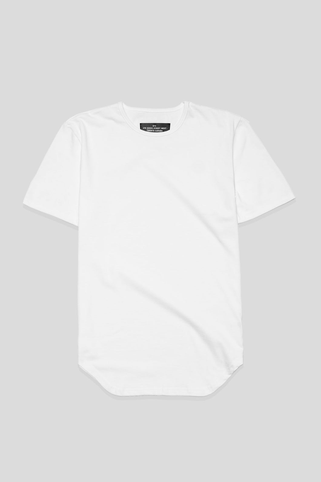 Barebones By GFC - Scoop Tee - White