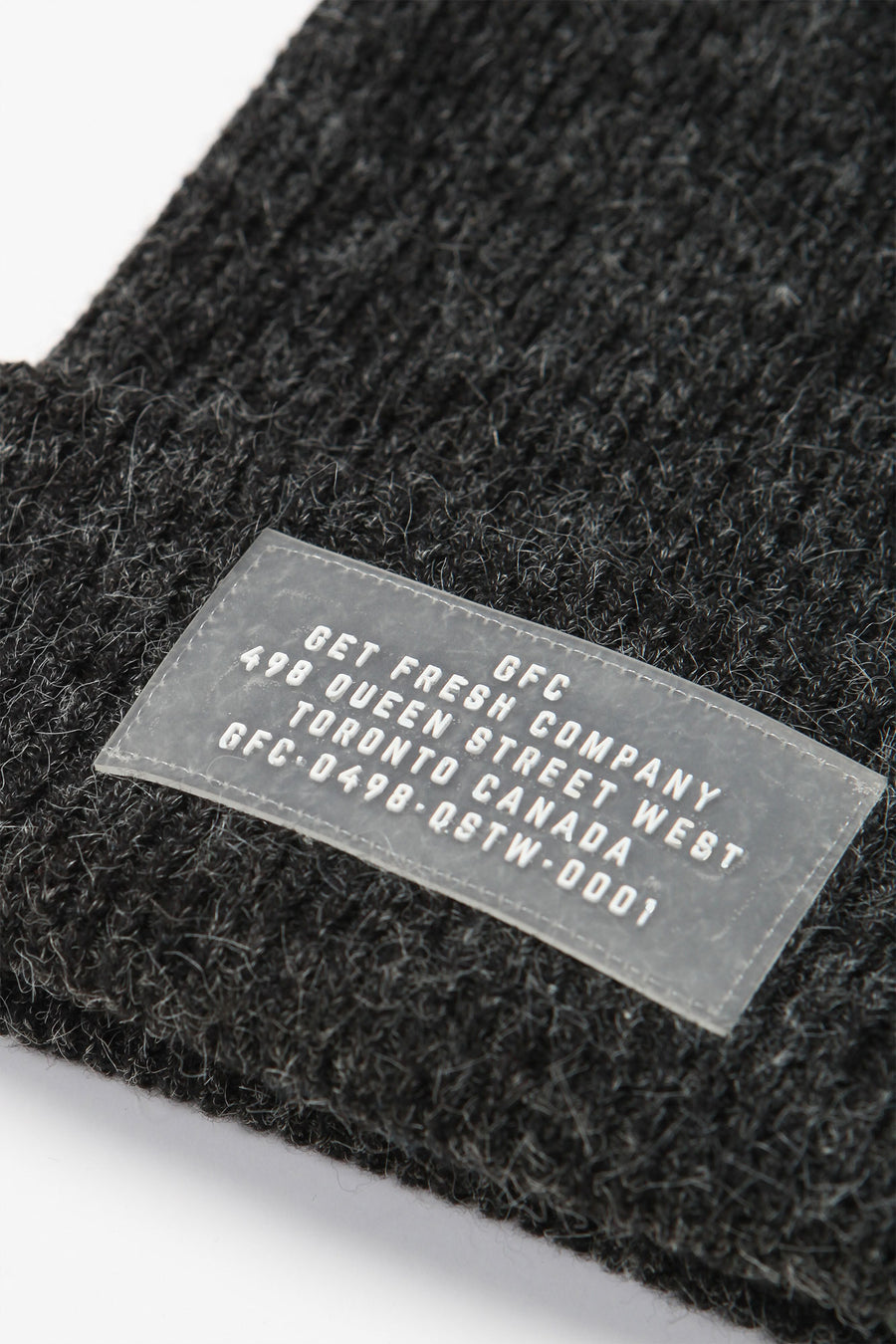 GFC - WATCHCAP (CHARCOAL)