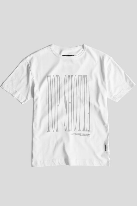 GFC - Top Shotta Tee - White/Silver