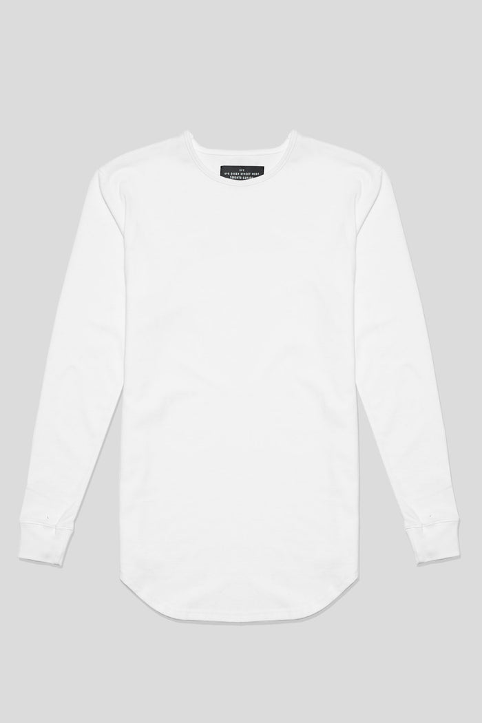 Barebones By GFC - Scoop L/S - White