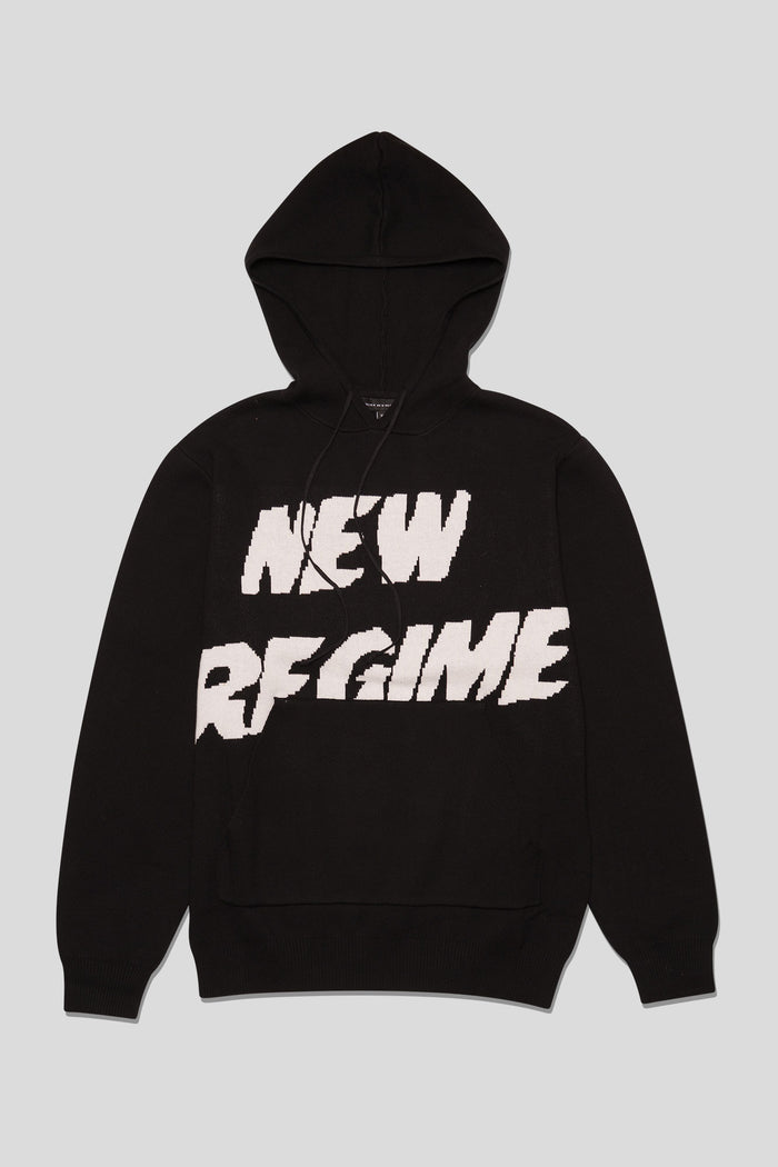 Atelier New Regime - Sweater Knit Logo Hoodie