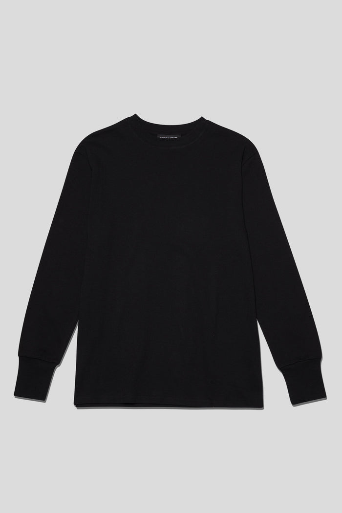 Atelier New Regime - Signature Logo L/S - Black