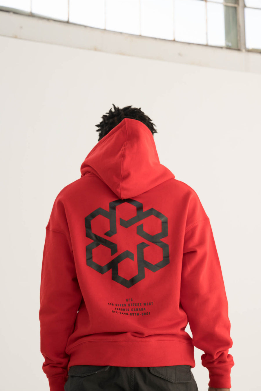 GFC - Shield Hoody - Red