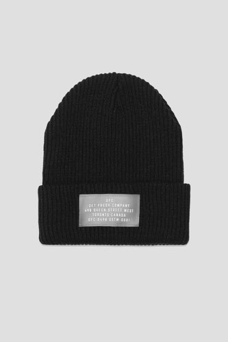 GFC - WATCHCAP (BLACK)