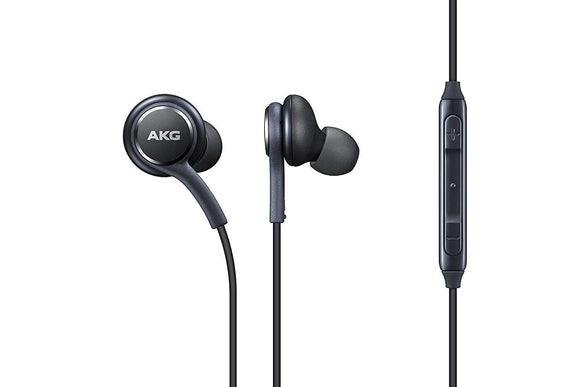 Premium Wired Earbud Stereo In-Ear Headphones with in-line Remote & Microphone Compatible with Samsung Galaxy S9 S9 Plus