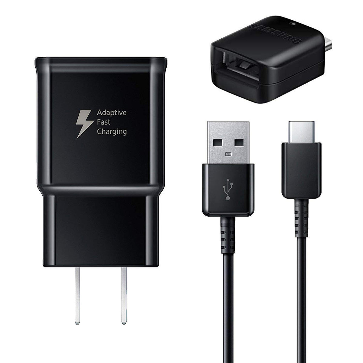 Black Micro USB to OTG Works with Samsung N7100 Direct On-The-Go Connection Kit and Cable Adapter!