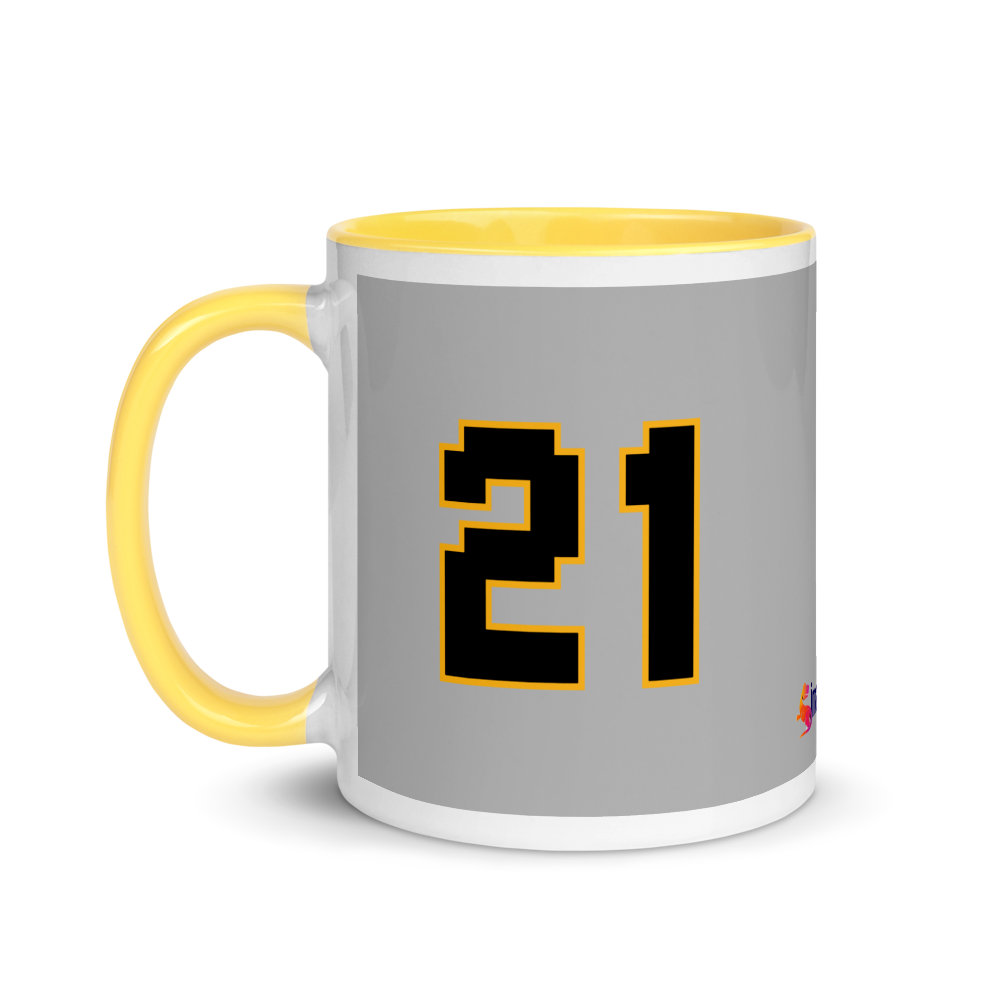 #Retire21 8bit Mug with Color Inside