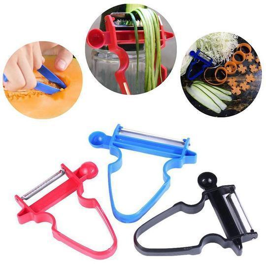 Creative Multi-Functional Peeler(Set of 3)