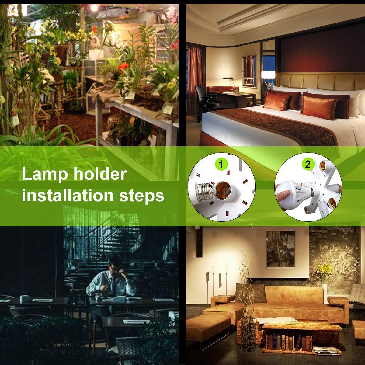 LED Light Bulbs Socket Adapter