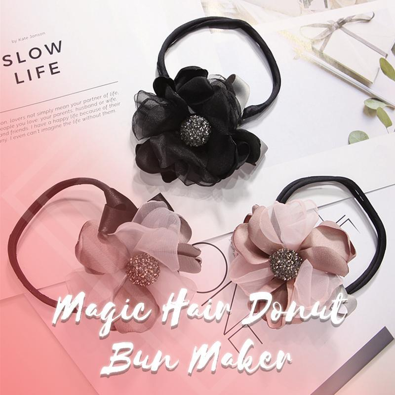 Fashion New Magic Hair Donut Bun Maker