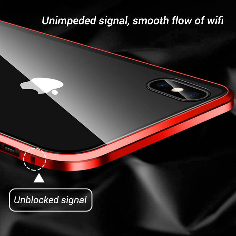 (Special discount $14.99 for the first 1000) Anti-peep Magnetic iPhone Case( Double Side)
