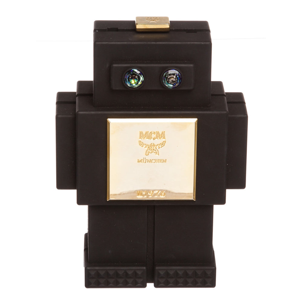 MCM Black Roboter Series Clutch Handb