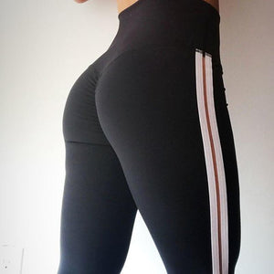 Side Striped Leggings (3 Colors)