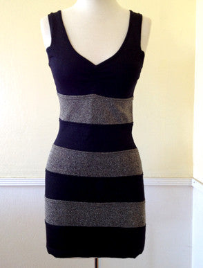 Dress - Diva Striped Dress