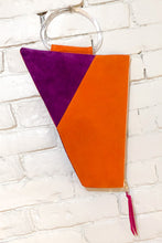 Load image into Gallery viewer, The Trapezoid (Apricot and Plum w/ Handle)