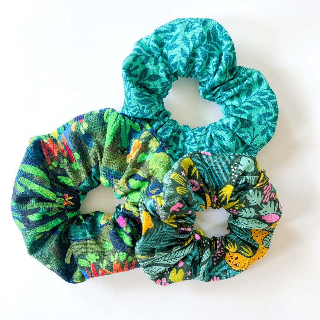 3-Pack Scrunchie Set (Welcome to the Jungle)