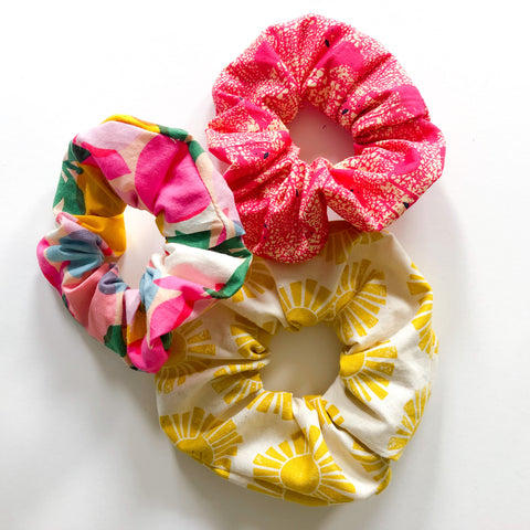 3-Pack Scrunchie Set (Savoring Summer)