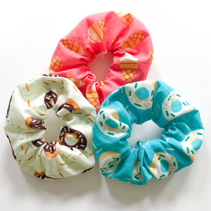 3-Pack Scrunchie Set (Snack Shack)