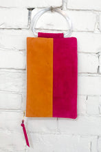 Load image into Gallery viewer, The Parallel (Apricot and Magenta w/ Handle)