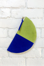 Load image into Gallery viewer, The Half-Moon (Celery, Teal, and Royal)