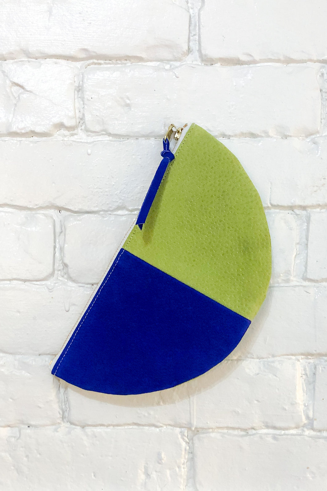 The Half-Moon (Celery, Teal, and Royal)