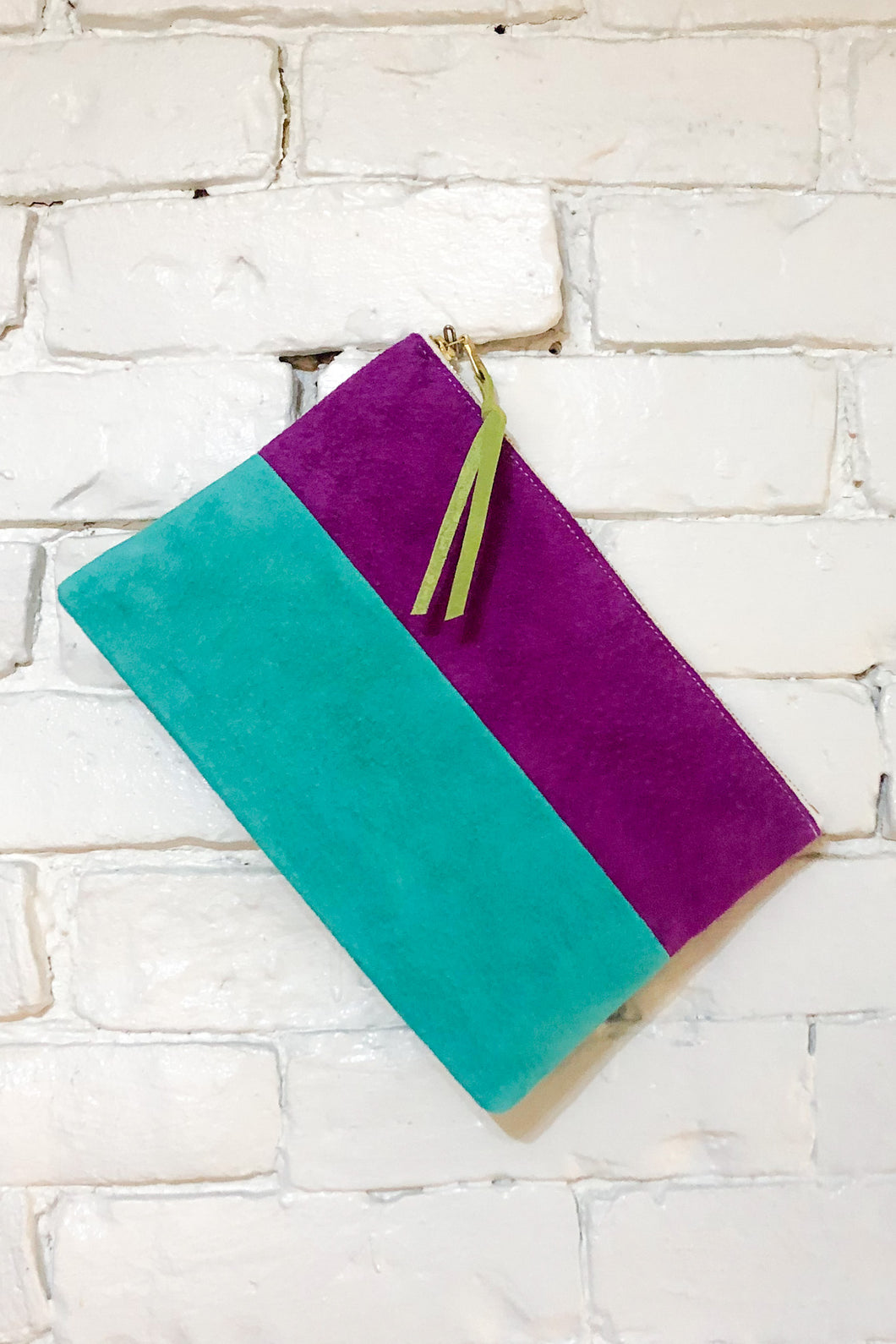 The Parallel (Plum and Teal)