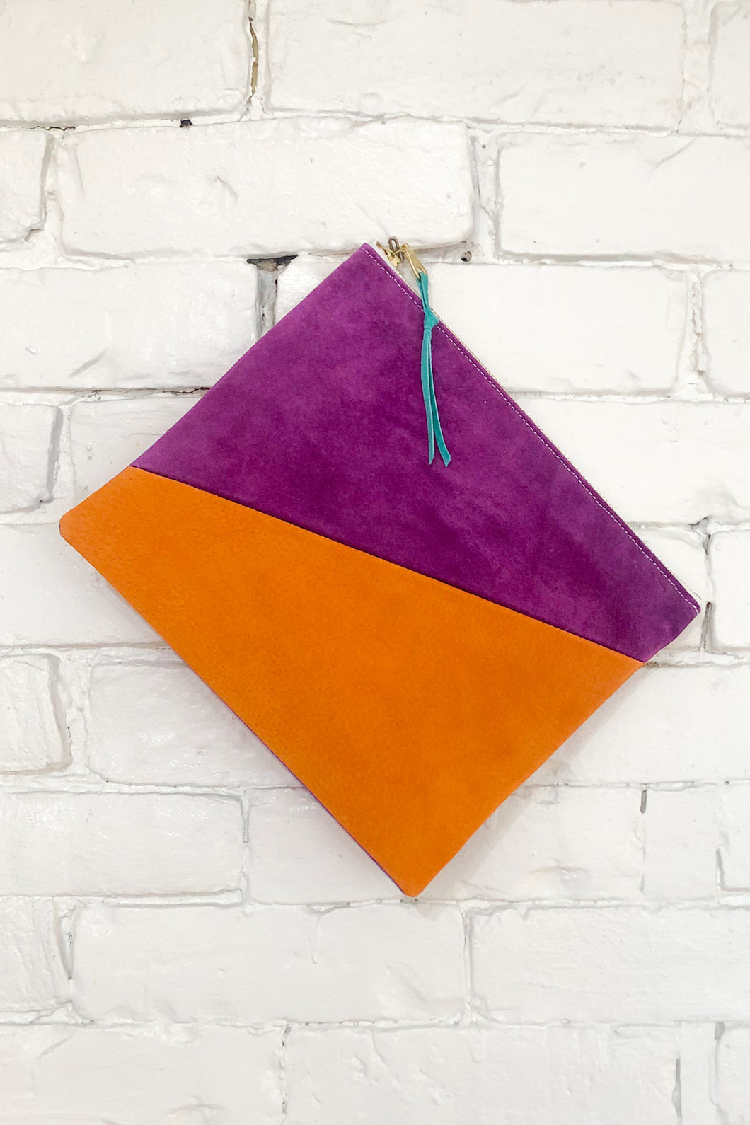 The Diagonal (Apricot, Plum, and Violet)