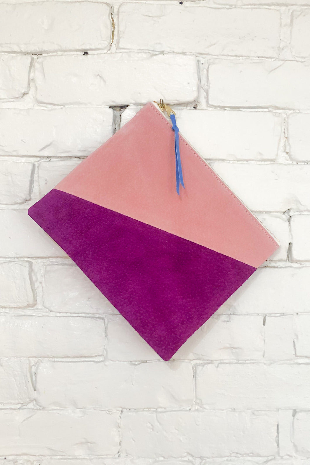 The Diagonal (Plum, Violet, and Blush)