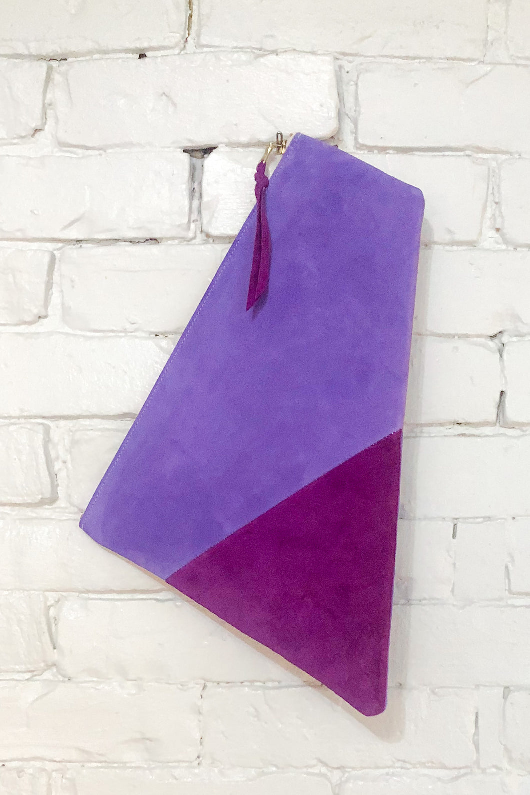 The Trapezoid (Violet, Mist, and Plum)