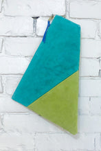 Load image into Gallery viewer, The Trapezoid (Celery and Teal)