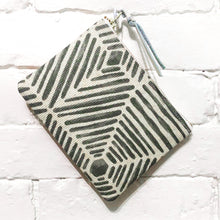 Load image into Gallery viewer, The Mini Pouch (Radiating Silver)