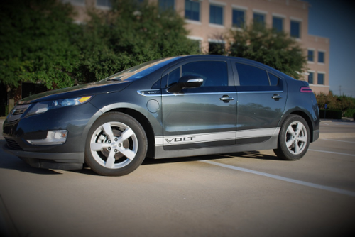 Chevy Volt Side Banner Stripe Graphics (set)