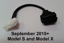 Load image into Gallery viewer, Tesla Model S, Model X, Roadster OBD2/CAN adapter cable