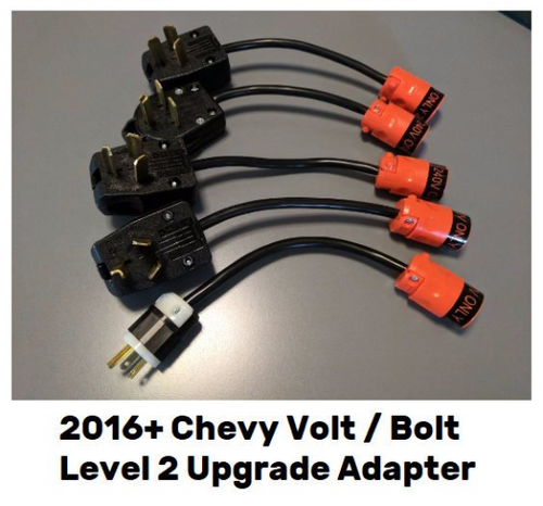 Level 2 Upgrade Adapter 220 240V for Chevy Volt / Bolt EV 2016, 2017, 2018, 2019