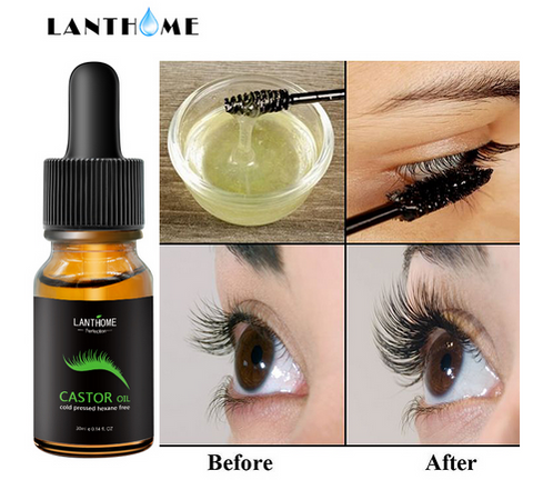 Image of Dual-use Eyebrow Eyelash Growth Liquid Serum Enhancer Eye Lash Growth Essential Oil Powerful Natural Makeup
