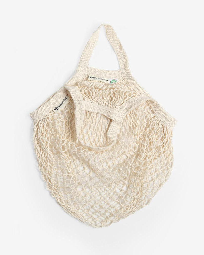 2ad8e446996 Organic Cotton Short-Handled String Bag in Natural by Turtle Bags ...