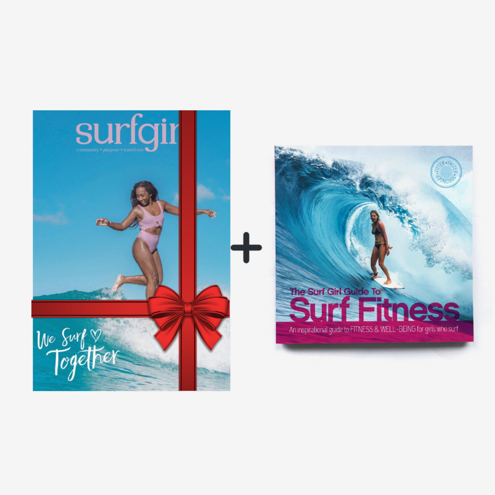 SurfGirl Magazine Gift Subscription + SurfGirl Guide to Fitness Book