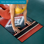 Slowtide 'Red Rock' Yoga Towel