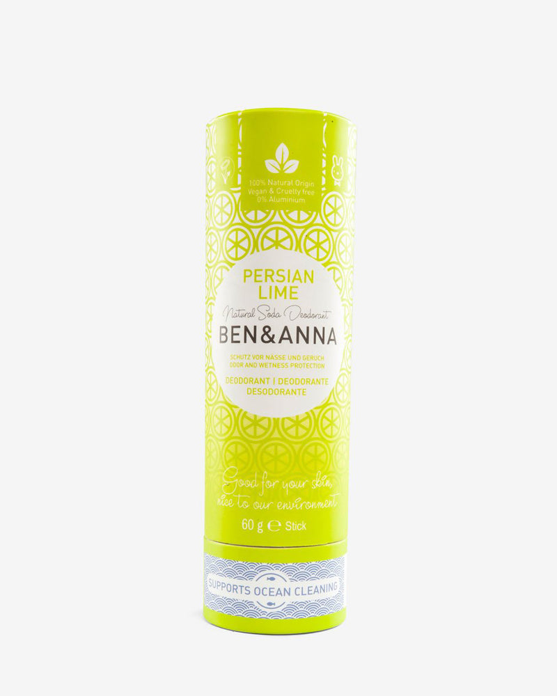 Natural Deodorant in Persian Lime by Ben & Anna