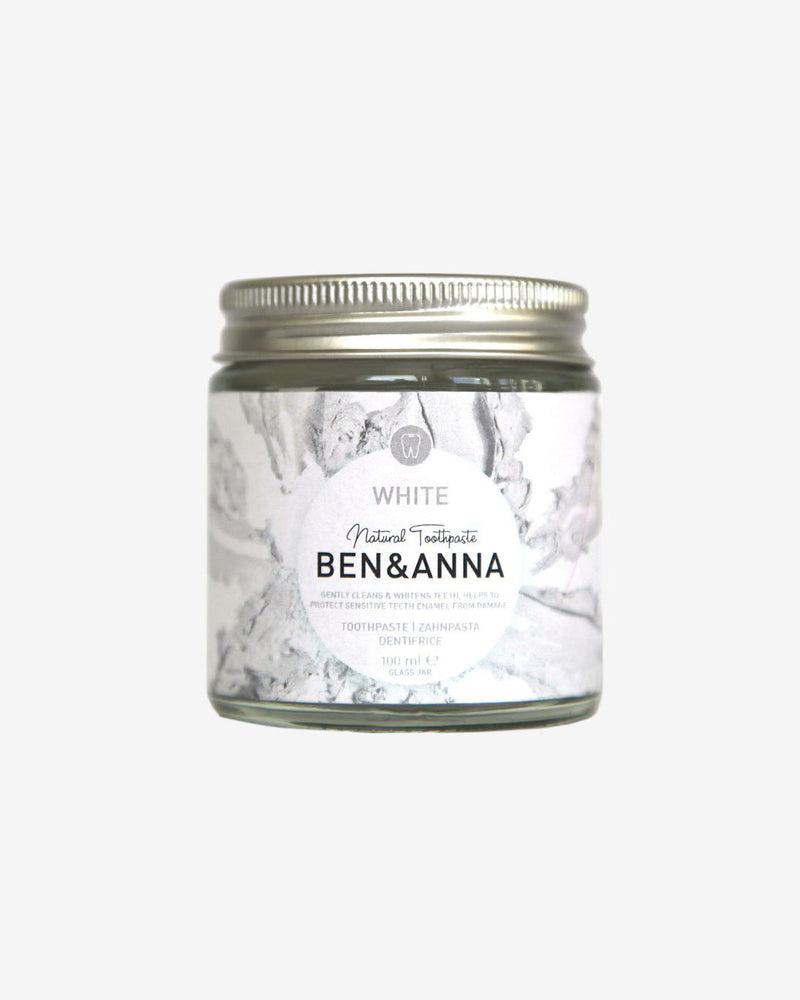Natural Whitening Toothpaste 100ml by Ben & Anna