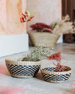 Sea Grass Decorative Bowls - Set of Two