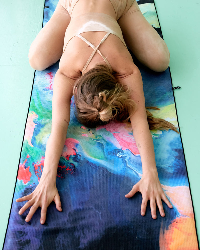 Slowtide 'Blissed Out' Yoga Towel
