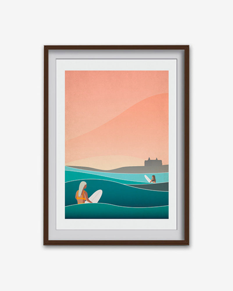 'Headland Haze' Print (various sizes)